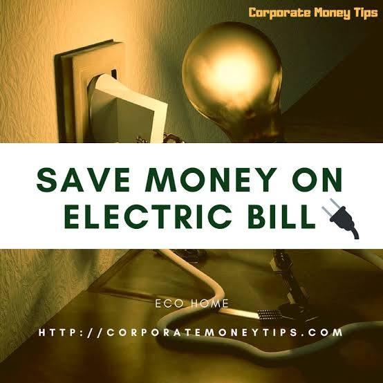 save money on electric bill